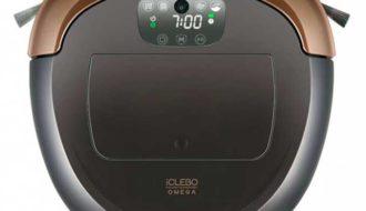 робот-пылесос IClebo Omega.
