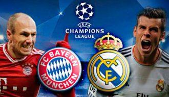 Бавария( Германия)-Реал Мадрид (Испания)
